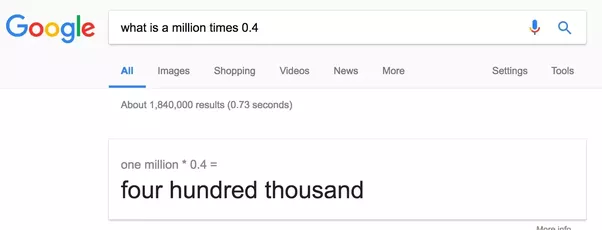 How To Write 04 Million In Numbers Quora