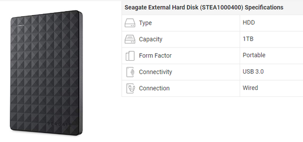Which is the best external 1tb hard disk in India? - Quora