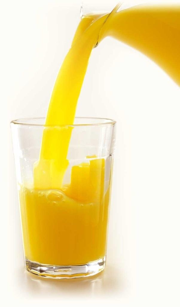 does orange juice prevent sleep at night quora