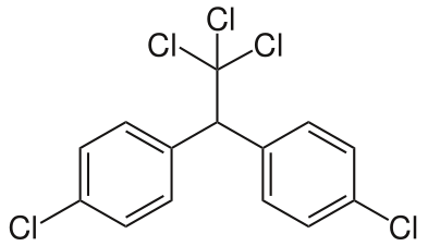 what is the molecular structure of ddt quora