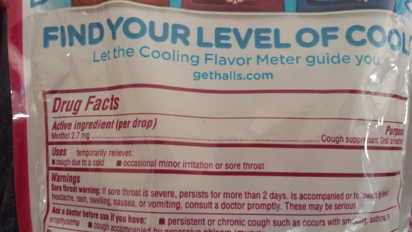 Are Different Flavors Of Halls Cough Drops Equally Strong