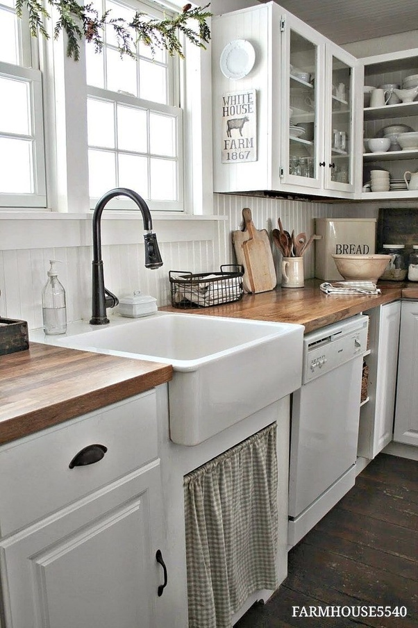 When replacing kitchen cabinets, can you keep the old ...