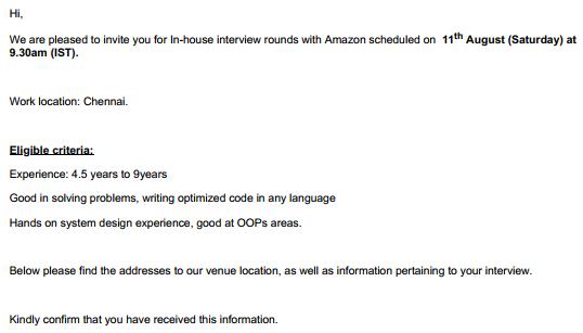 Is the Amazon recruitment process too harsh? - Quora