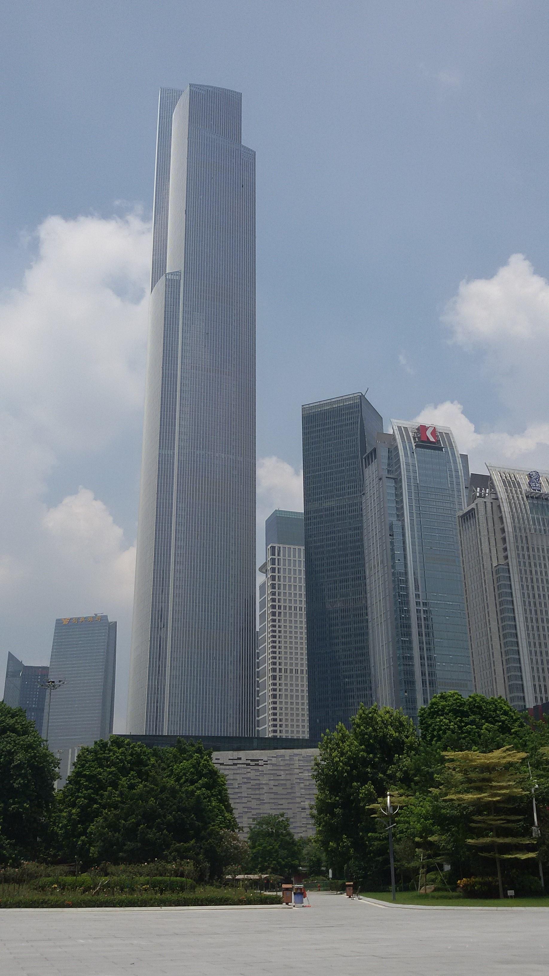 Världens Högsta Byggnader - Guangzhou CTF Finance Centre