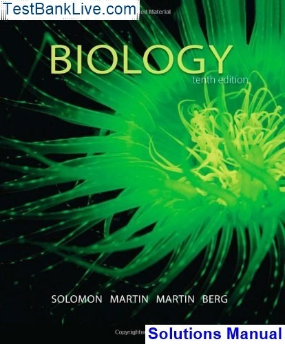 Where I can download Solution Manual for Biology, 10th