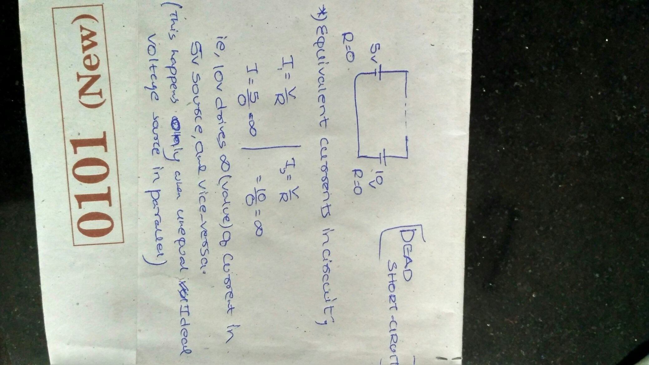 Why Cant I Connect Two Unequal Ideal Voltage Sources In Parallel Series Circuit With A Source Such As Battery Or This Form Of Losses Heat And Their Magnitudes Current Also Decreases Due To Resistance Present Them Moreover Practical Batteries