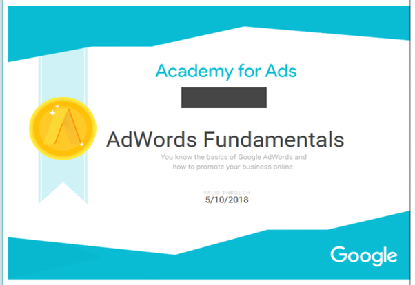 How to get Google adwords certification? Is it free or paid