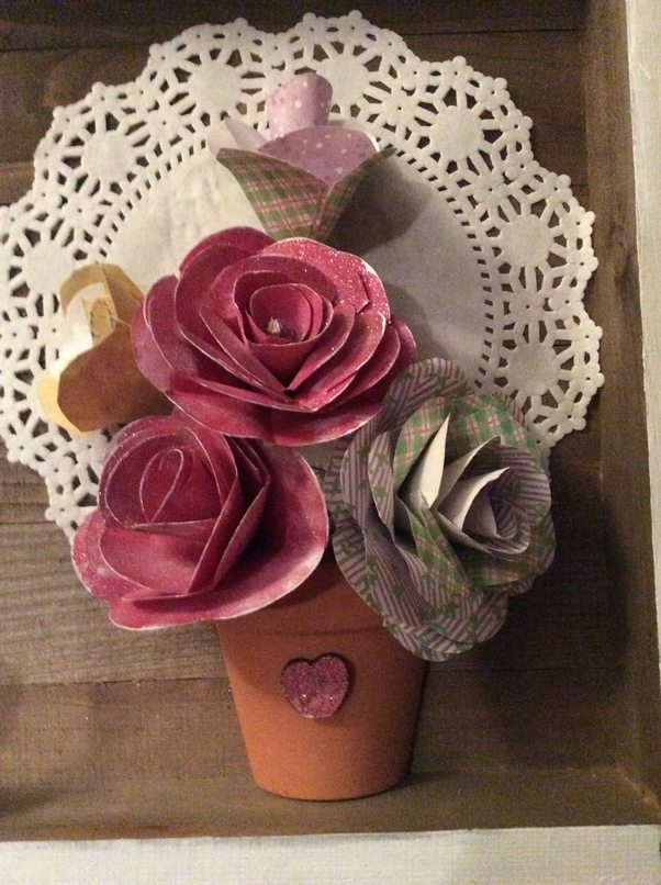 What is a unique way to make tissue paper flowers quora heres roses i recently made from paper mightylinksfo