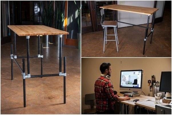 Source Building An Adjule Height Standing Desk Video