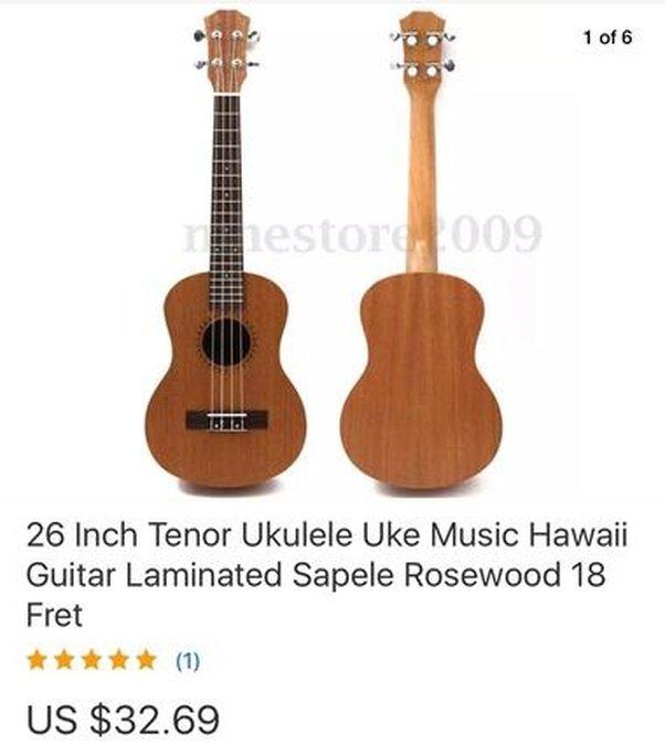 Dating after $50 ukulele
