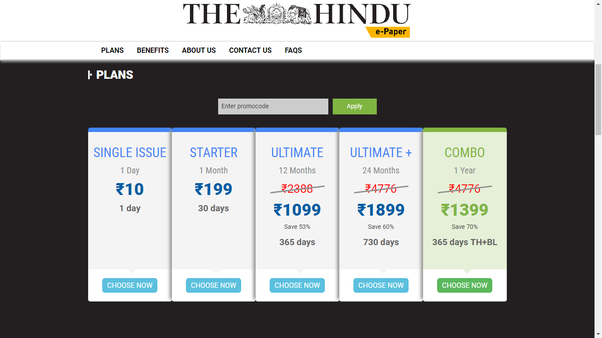 How to download a Hindu newspaper in PDF - Quora