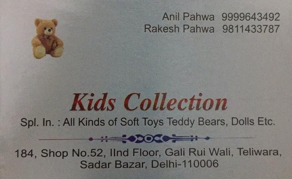 Where Can I Find Soft Toy Raw Material Shop In Delhi Quora