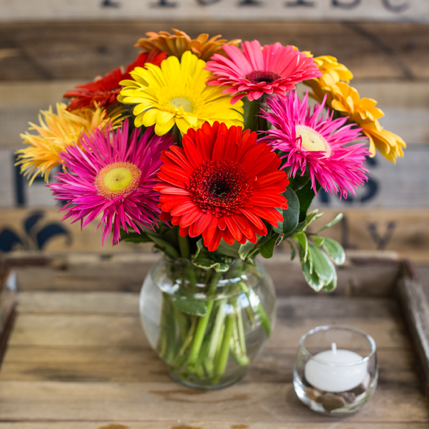 What are the best flower colors and types for a \'get well soon\' gift ...