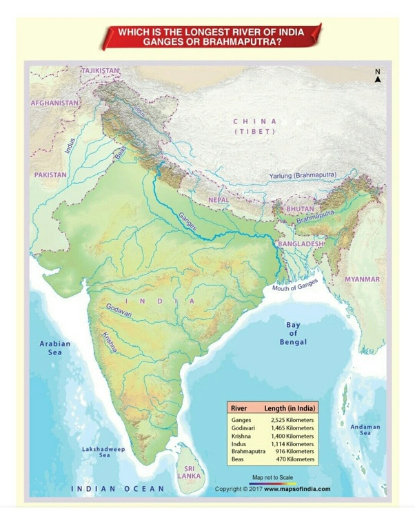 Which is the longest river in India? - Quora on lena river on world map, tigris on world map, yellow river on map, punjab on world map, columbia river on world map, irrawaddy river on world map, sahara desert on world map, bay of bengal on world map, brahmaputra river on world map, mecca on world map, huang river on world map, eastern ghats on world map, huang he on world map, nile river on world map, ganges river map, rocky mountains on world map, thar desert on world map, chang river on world map, mississippi river world map, tiber river on world map,