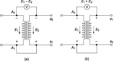 what is polarity test for transformer quora rh quora com diagram for transformer sequence diagram for transformer