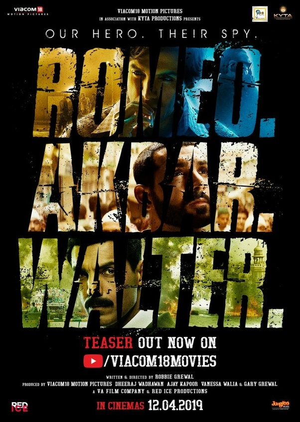 What is your review of the trailer of 'Romeo Akbar Walter(RAW