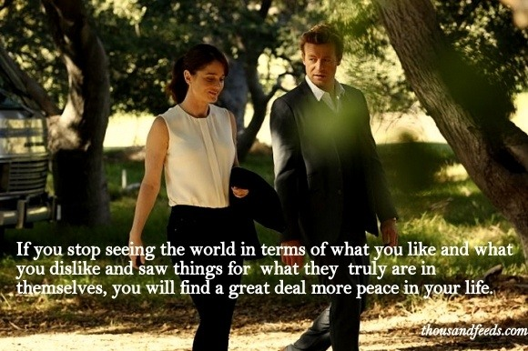 What Are Some Of Best Dialogue Quotes Of The Mentalist