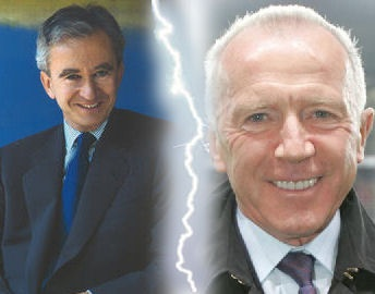 why are fran ois pinault and bernard arnault described as 39 arch rivals 39 in the press is it. Black Bedroom Furniture Sets. Home Design Ideas
