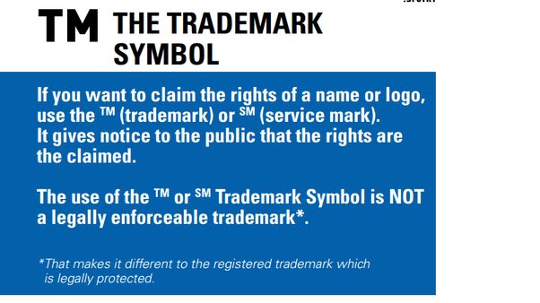 What Is The Difference Between Trademark And Copy Right Quora