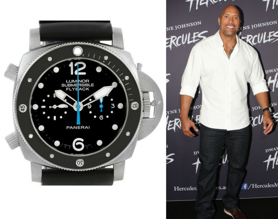 Who are some celebrities known for wearing panerai watches quora for Celebrity wearing panerai
