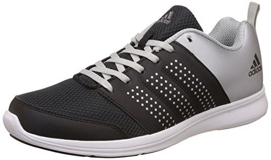 #3 Adidas Men's Adispree M Black and Metal Running Shoes – 12 UK/India  (47.33 EU)