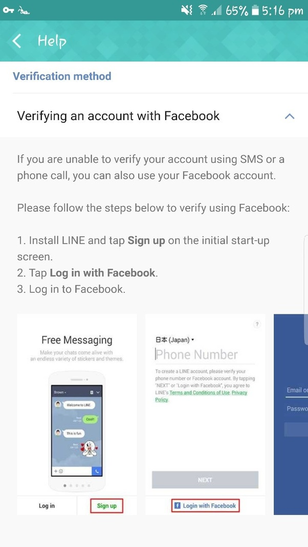 How to create Line account without phone verification - Quora