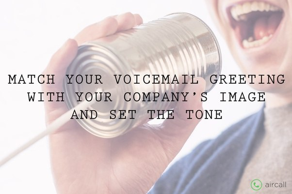 What is the bestcreative voicemail greeting for a business quora when a caller hits your voicemail greetings the next step you want to lead him or her to is most certainly either m4hsunfo Image collections