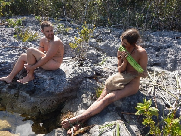 Opinion caught having sex naked and afraid really