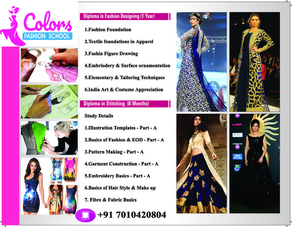 Can I Do Diploma In Fashion Desgining After 10 Th Quora