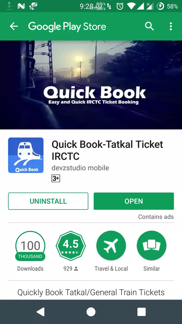 What is the best Internet browser to book Tatkal tickets on