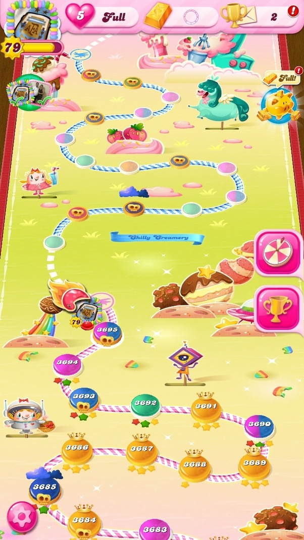 how many levels of candy crush