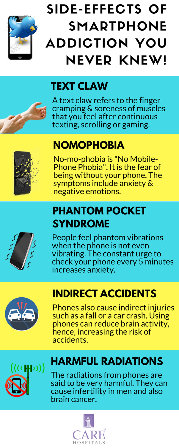 What are the harmful effects of a mobile addiction? - Quora