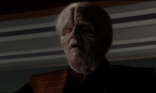 Why Does Palpatine Talk Differently After His Duel With Mace Windu In Revenge Of The Sith Quora