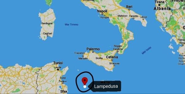 Cartina Italia Lampedusa.Dove Si Trova Lampedusa Fa Parte Della Sicilia Quora