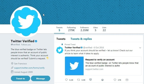 to be verified