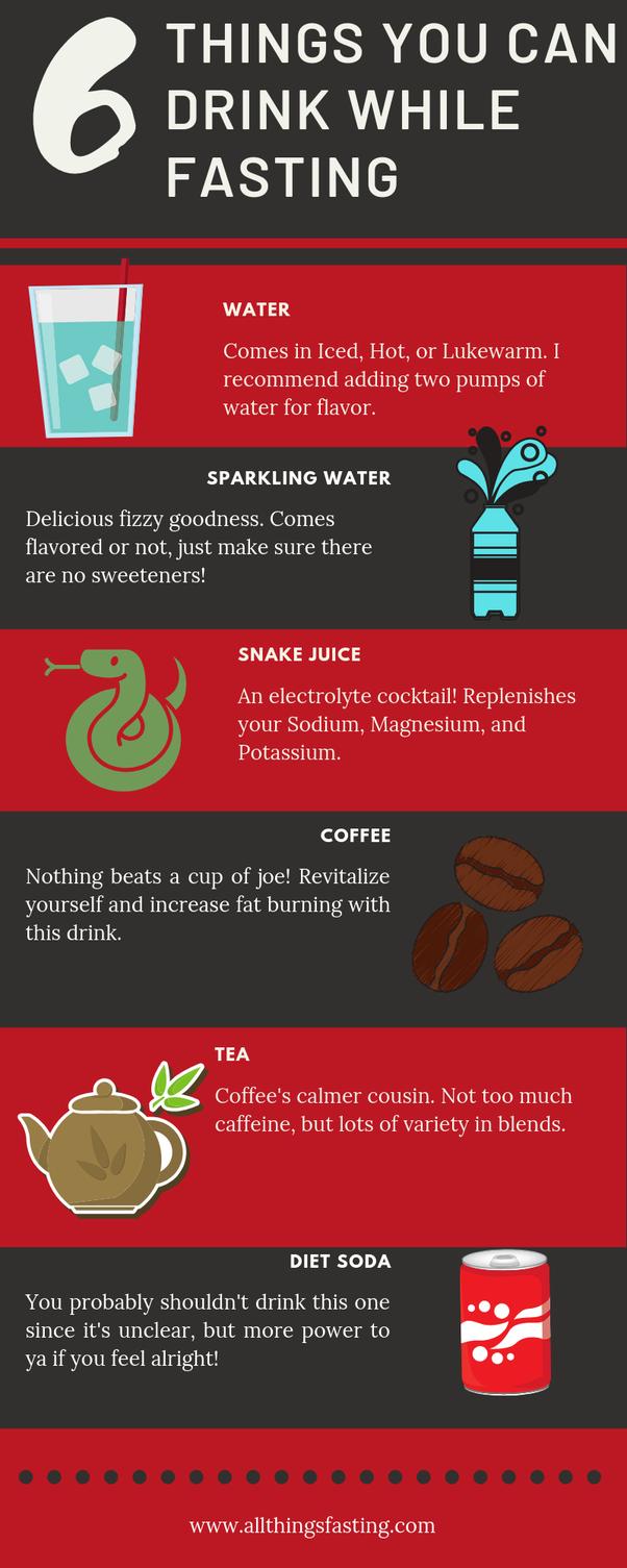 intermitent fasting diet soda
