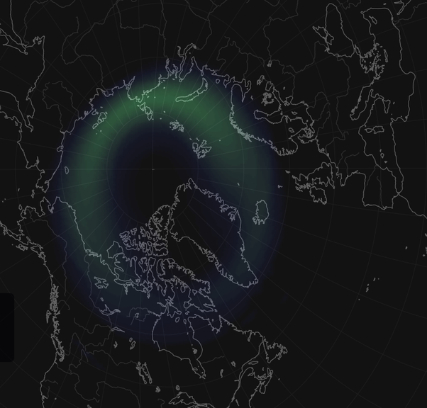 Oppdatert How far north do you have to be to see the northern lights? - Quora FJ-51
