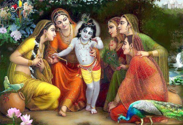 Stories of sex with lord krishna