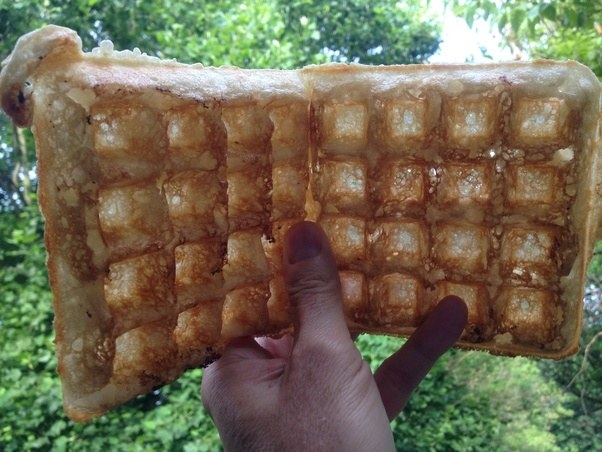 How to make crispy waffles with pancake mix quora this is my own photo not one obtained off the net ccuart Gallery