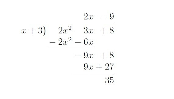 How To Summon The Long Division Symbol In Latex Quora