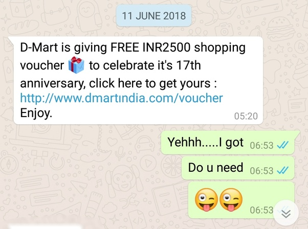 why do some people send fake messages in whatsapp quora