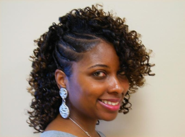 Excellent What Are Some Simple Flexi Rod Hairstyles Quora Natural Hairstyles Runnerswayorg