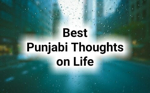 What Are Some Quotes And Thoughts Based On Punjab In Punjabi