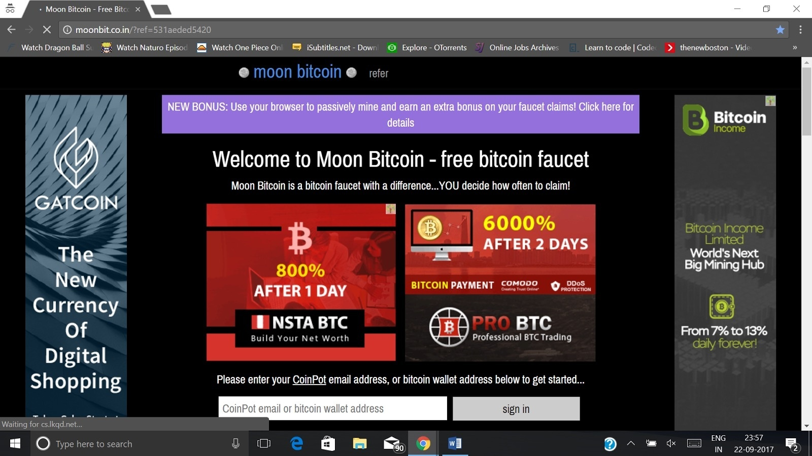 How to earn bitcoins in India for free - Quora