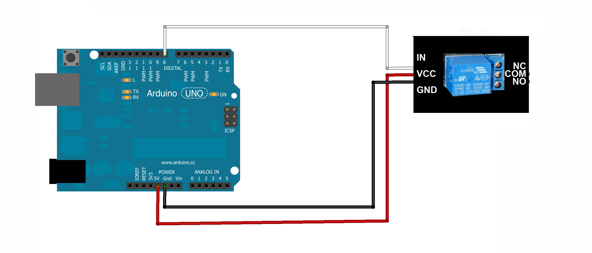 How To Make An Automatic Ac Switch Using Arduino Uno Which Can Turn Control Relay Wiring On And Off At A Particular Set Time Quora