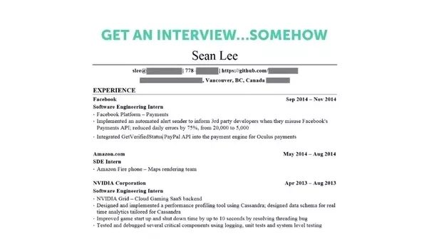 What\'s the best-looking CV you\'ve ever seen? - Quora