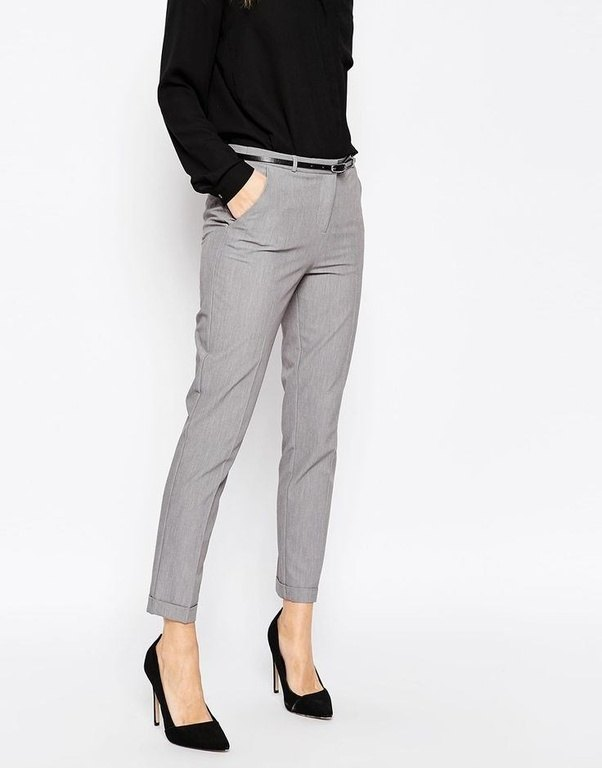 What colors look good with grey pants? - Quora