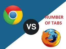 What is the maximum number of tabs open in Google or