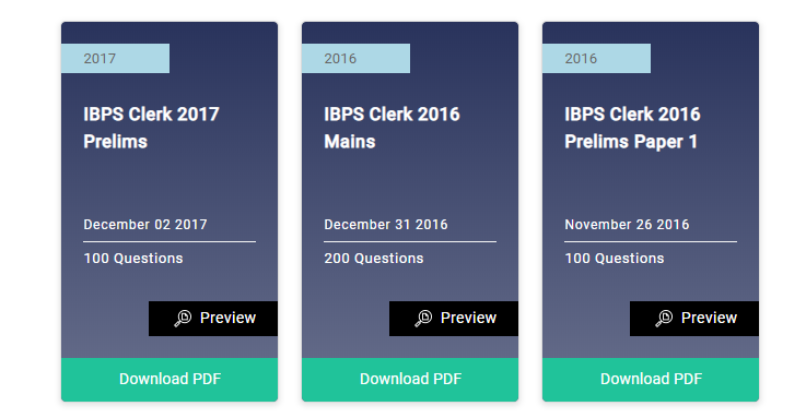 Ibps Clerk Mock Test Pdf
