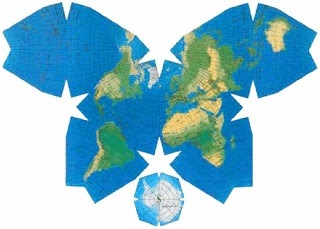 How much bigger is the continent of africa compared to the rest of this is a butterfly projection of the world it is just one of the many ways scholars in this field have attempted to plot the globe onto an accurate 3d gumiabroncs Images